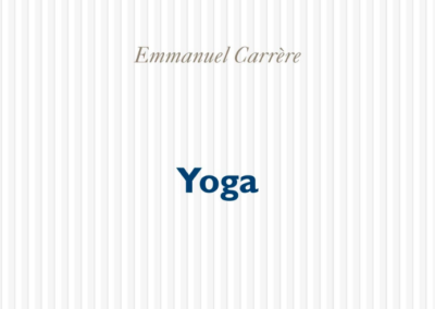 Yoga d'Emmanuel Carrière